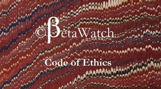 Betawatch will guard your confidentiality. Furthermore Betawatch can not accept any assignment for which it is not qualified or that would not be beneficial to you